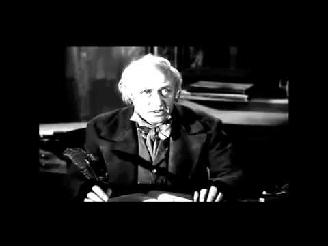 """My favorite version of """"Scrooge"""" - A Christmas Carol with Alastair Sim. If I don´t watch this movie, it´s not Christmas for me."""