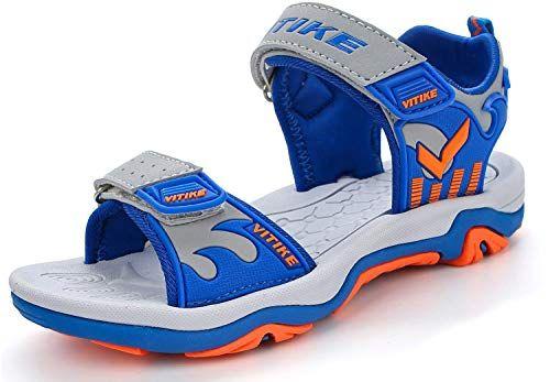 Elaphurus Boy's Sandals Open Toe Beach Shoes Children Athletic Trekking  Sandal(Blue EU28) | Girls shoes, Kid shoes, Boys sandals