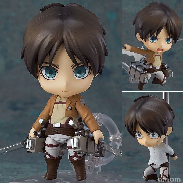 AmiAmi [Character & Hobby Shop] | Nendoroid - Attack on Titan: Eren Yeager(Released) 3,280JPY