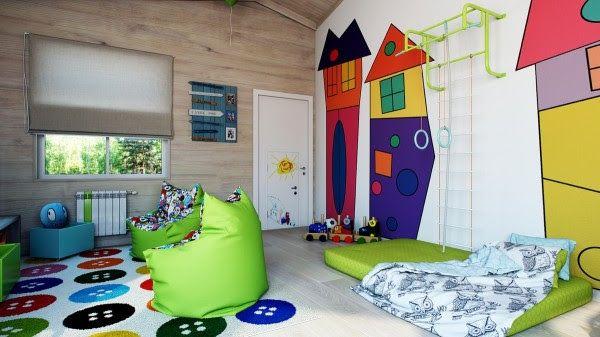 Fargekick på barne og ungdomsrom - Hverdagsliv det gode liv