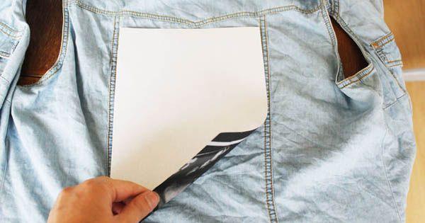 Kreat�vny diy n�pad s n�vodom urob si s�m na prenos fotografie na textil - kus l�tky, tri�ko a pod. Transfer fotografie na textil - zo��chavacou technikou