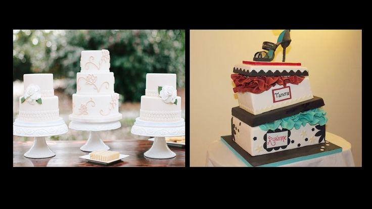 #amazing #balanced, #white #cake #design