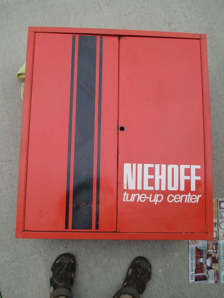 NIEHOFF ORANGE TUNE UP IGNITION VINTAGE AUTO PARTS SERVICE