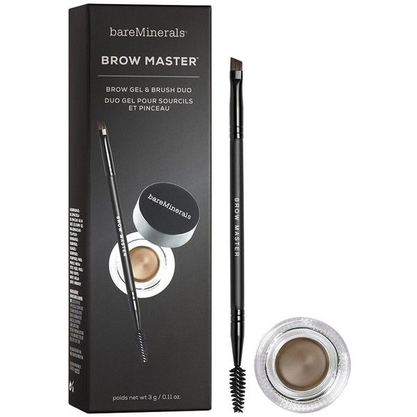 BareMinerals Brow Master Duo ($29) ❤ liked on Polyvore featuring beauty products, makeup, eye makeup, bare escentuals, eyebrow cosmetics, brow makeup, eyebrow makeup and bare escentuals cosmetics