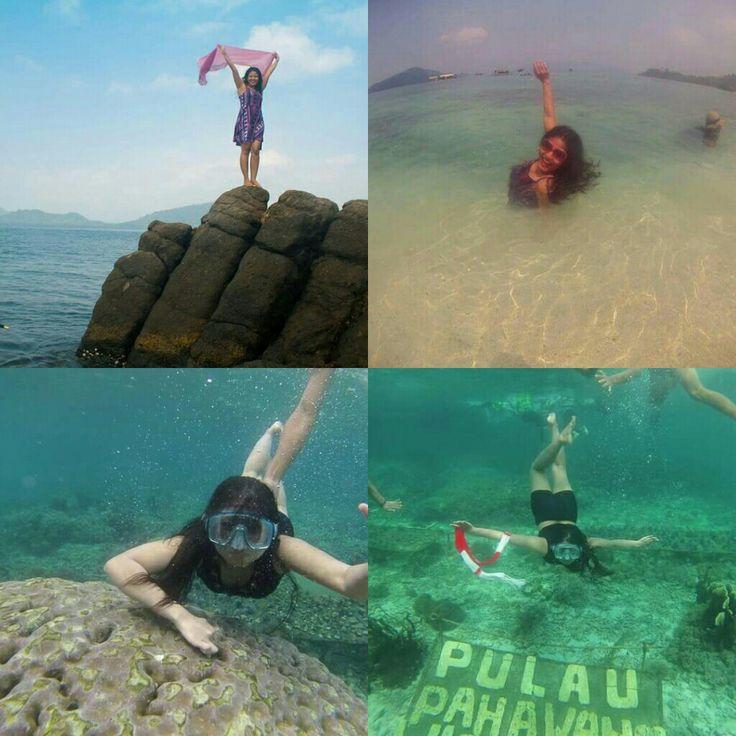 14-16 Agustus 2015   trip to PAHAWANG island