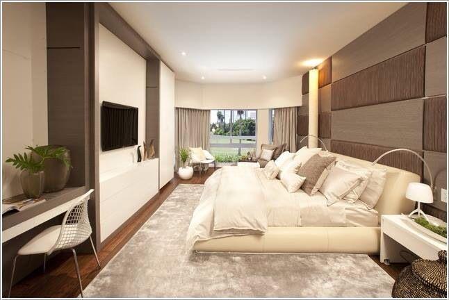 Bedroom. Modern. Pastel. Luxusschlafzimmer, Schlafzimmer
