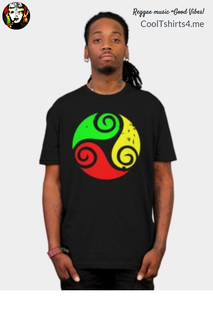 Design t shirt reggae - New Reggae Flag Goodvibes Tshirt At Cooltshirts4 Me