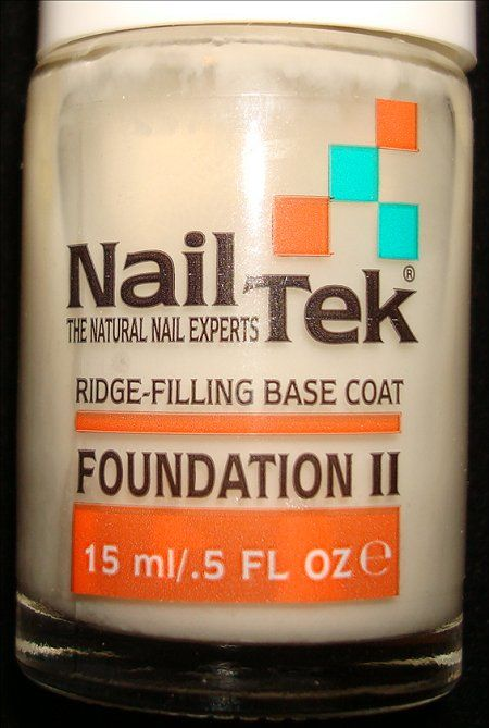Nail Tek Foundation II base coat review by Swatch & Learn