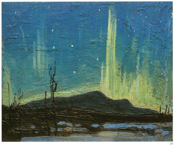 tom thomson northern lights - Google Search