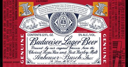 Today we have some new retro packaging coming from Budweiser. This is Budweiser Lager Beer packaging and the beer remains at 5%-AbV and 145...
