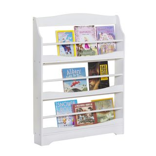 Expressions White Bookrack | Overstock.com Shopping - The Best Deals on Kids' Furniture