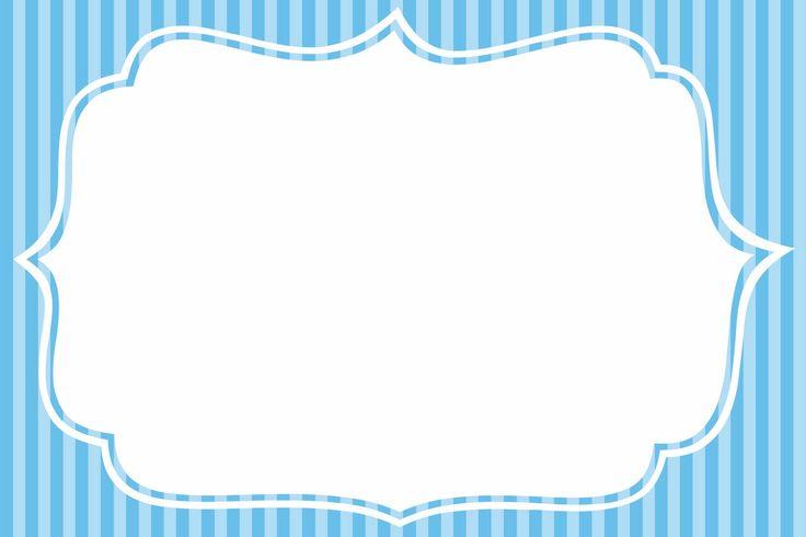 Montando minha festa: Listras azul