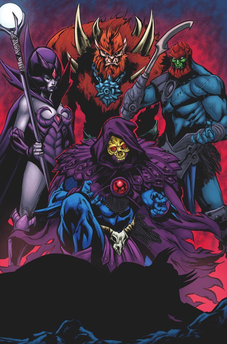 He-Man: Eternity War #7 Cover by Jonboy Meyers
