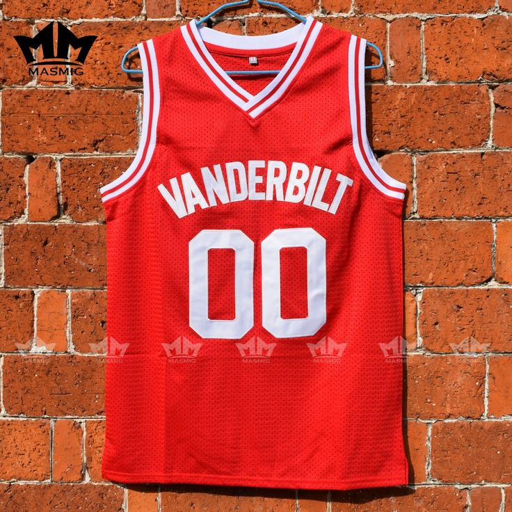 MM MASMIG Family Matters Steve Urkel 00 Vanderbilt Muskrats High School Basketball Jersey Red S to 3XL