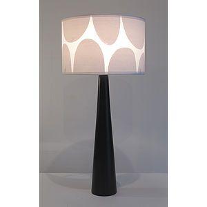 Rock Print Lampshade - lighting