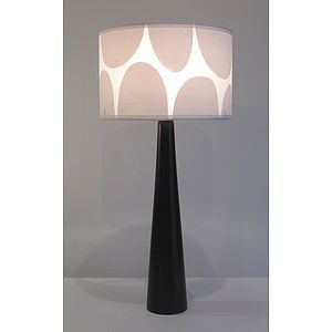 Rock Print Lampshade - lighting