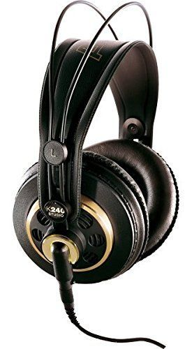 AKG K 240 SemiOpen Studio Headphones -- You can get more details by clicking on the image.