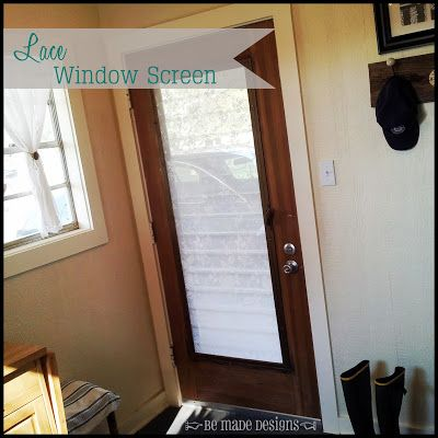 Lace Window Screen