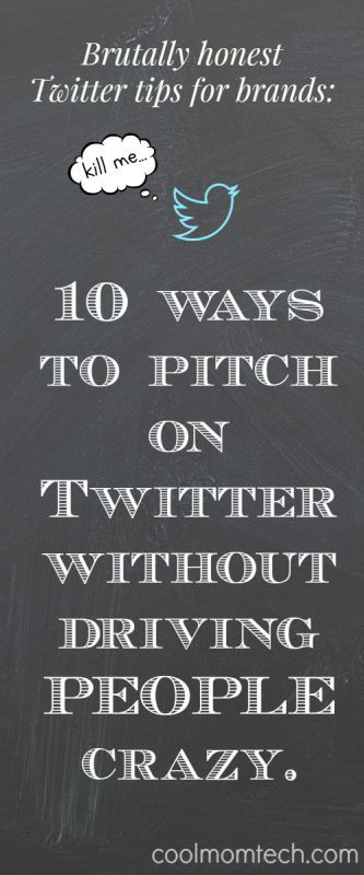 If you're in marketing/PR and want to pitch using Twitter, follow these 10 extremely honest Twitter tips for brands that you may not have considered.