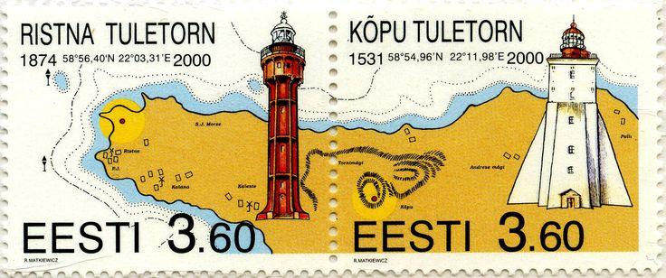 Faros de Ristna y de Kopu, Estonia 2000