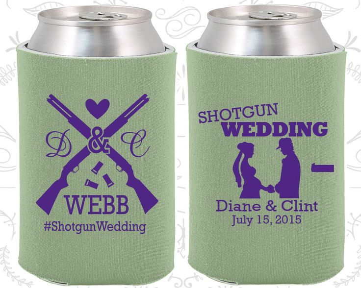 Sage Wedding, Can Coolers, Sage Wedding Favors, Sage Wedding Gift, Sage  Personalized Koozies  (562)