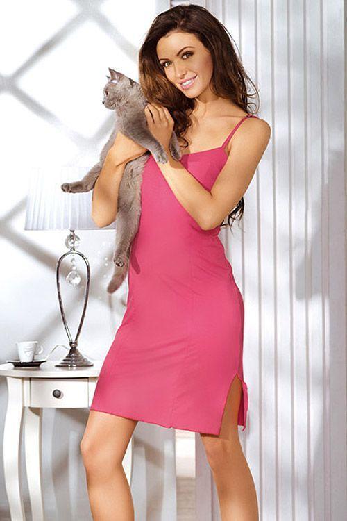 Różowa piżama BABELLA  / Pink pajamas / 79,71 PLN #pyjamas #heart #pizama #serca #bielizna_nocna #nightclothes #babella