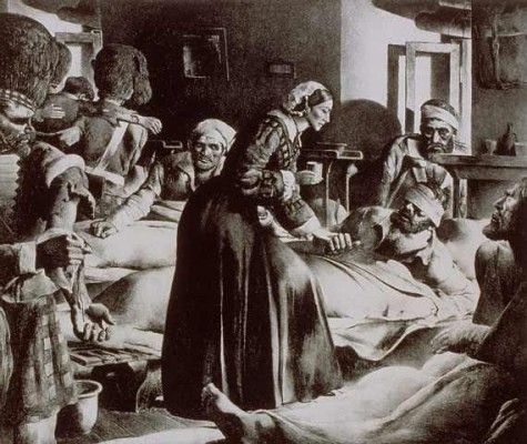 Florence Nightingale was appalled by the conditions of the Crimean War.  She dedicated the rest of her life, to educating nurses and reforming public health.