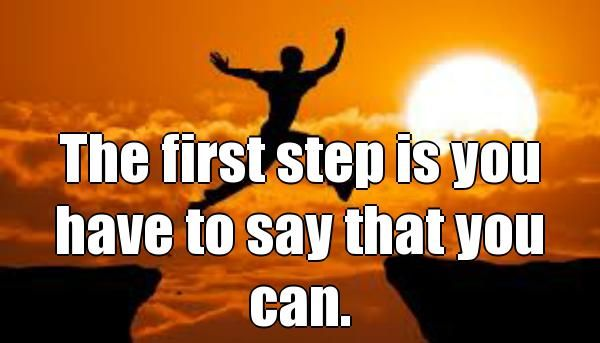 The first step to success Online is you have to say that you can. We underestimate ourself most of the time , but we are so powerful and Yes we can when we decide we Can .