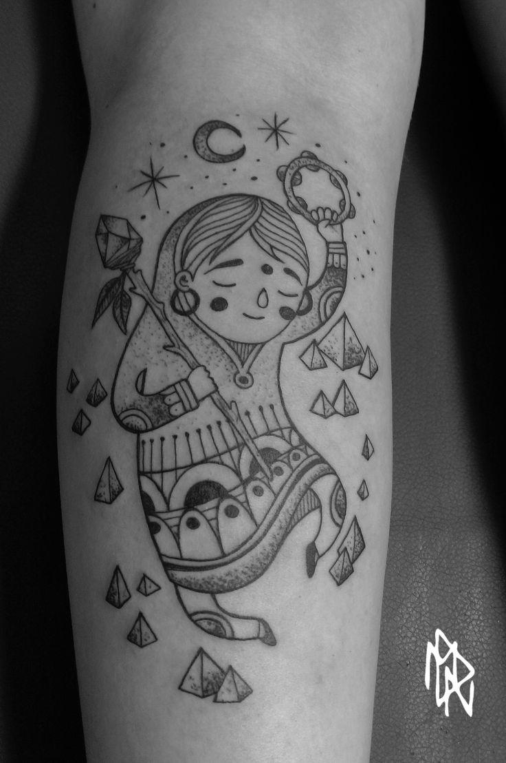 Lars krutak tatu lu tattoos from the dreamtime lars krutak - Happy Witch Dancing Mahell