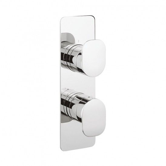 KH ZERO 2 thermostatic shower valve with 2 way diverter in Recessed | Luxury bathrooms UK, Crosswater Holdings