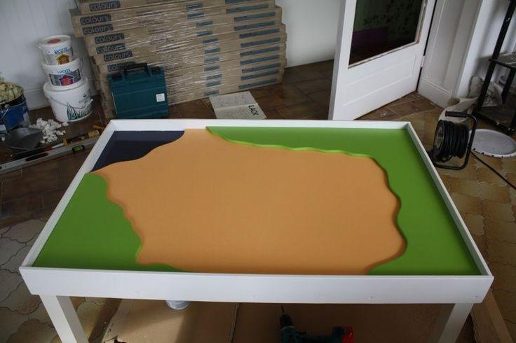 1000 id es propos de construire une table sur pinterest canap rustique - Construire sa table basse ...