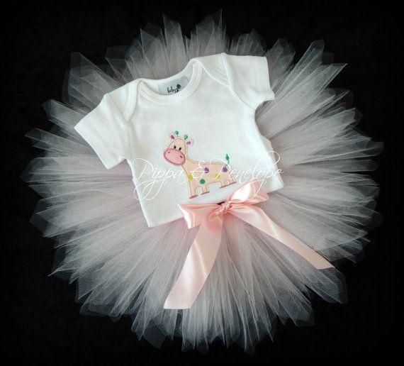 Abbigliamento neonato Tutu tutù rosa Tutu di PippaAndPenelope