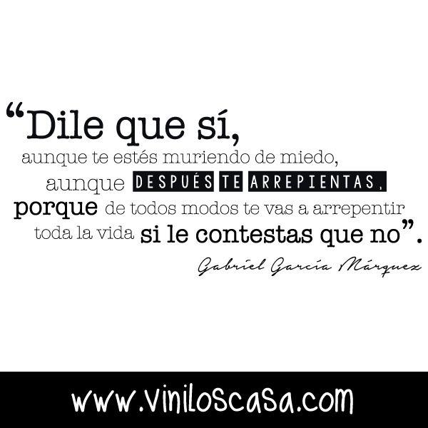 #Frasesdelavida para compartir --> www.viniloscasa.com