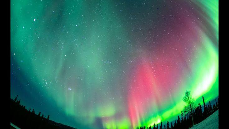 Brilliant Time-Lapse of Alaska's Northern Lights