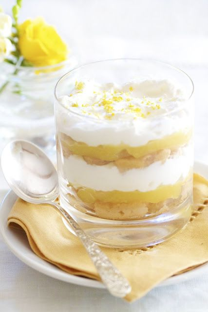 Lemon Trifle from @epicurean_mom: Desserts, Sweets Treats, Food, Lemon Trifles, Trifle Recipe, Epicurean Mom, Yummy, Lady Fingers, Delicious