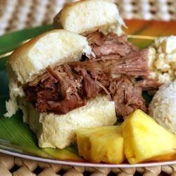 """Oven Kalua Pork I """"This was a definite hit at our house! It came out just as tender and juicy as it does when I slow cook one all day and there was not near as much work!!!!"""""""