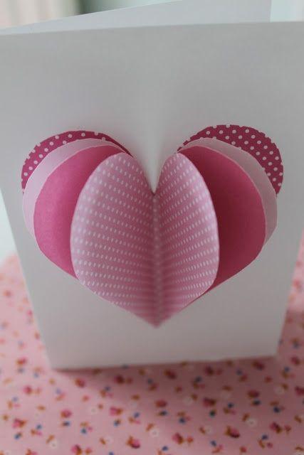 diy valentines card