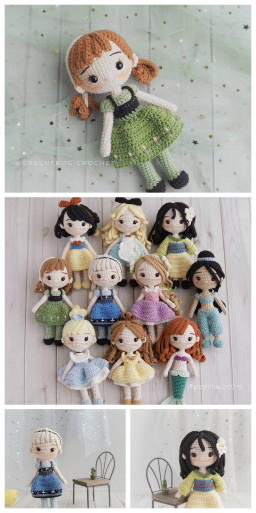 Amigurumi Rose Doll Free Pattern – Amigurumi Free Patterns And Tutorials – Crafts