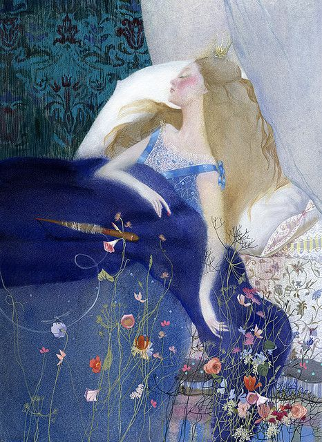 Sleeping Beauty by Nadezha Illarionova