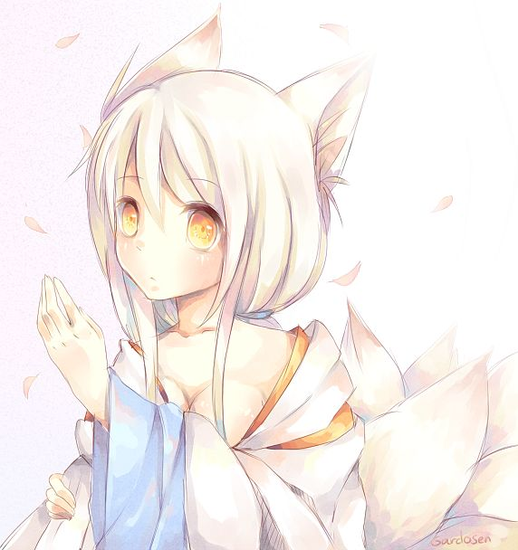 Kitsune by =Gardosen on deviantART | Manga & Anime ...