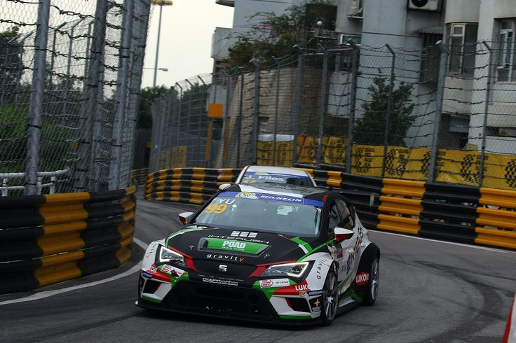 TCR International Series 2015. Macau.