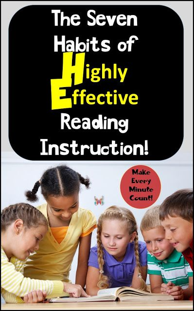 Learn how the best teachers teach reading. It's all about the seven best practices in reading instruction! #readinginstruction