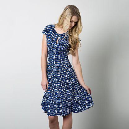 Buy a women's dress pattern for knit dresses, knit dress, keyhole neckline  dress with