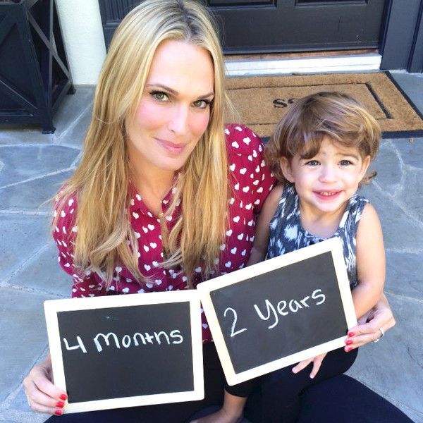 Molly Sims' pregnancy announcement is just the sweetest!
