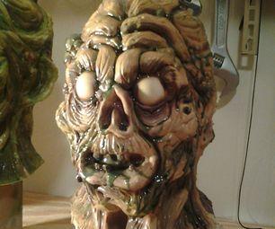 Making custom latex halloween masks on a budget