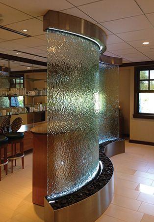 Massage Spa Reception Area