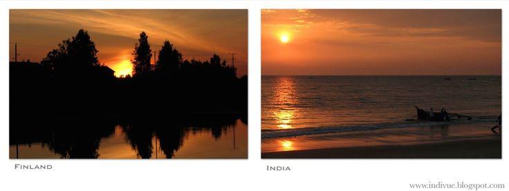 Sunset oranges - Auringonlaskun oransseja