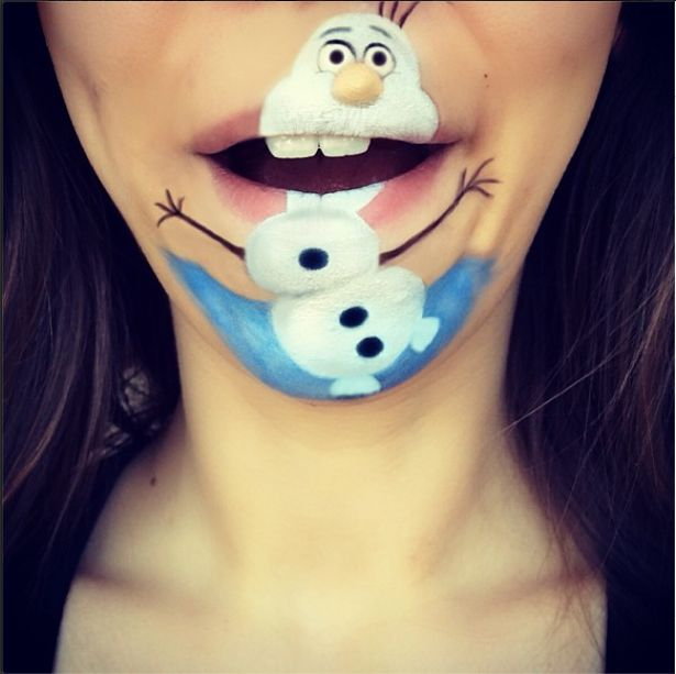 Des maquillages de bouche incroyables!