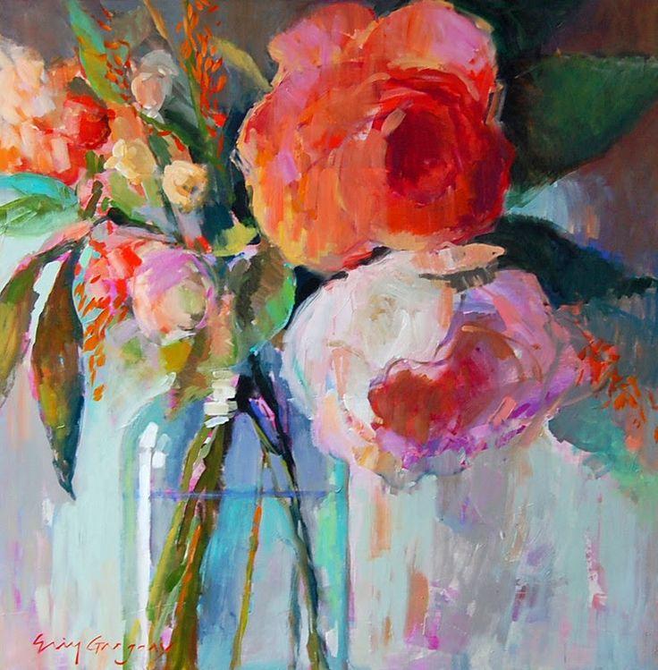 Более лучших идей на тему Акриловая живопись на  Эрин Фитцхью Грегори Изумительная работа с цветом радость жизни оптимизм и чувство счастья