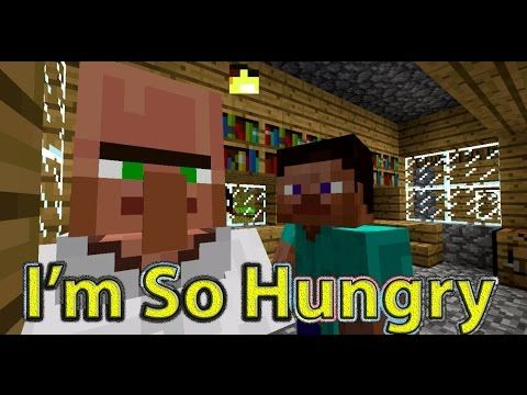 """I'm So Hungry"" - Minecraft Parody of Iggy Azalea's Fancy (Music Video)"